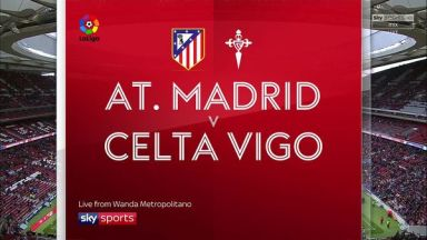 Full match: Atletico Madrid vs Celta de Vigo