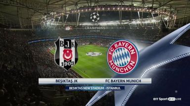 Full match: Besiktas vs Bayern Munich