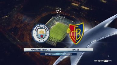 Full match: Manchester City vs Basel