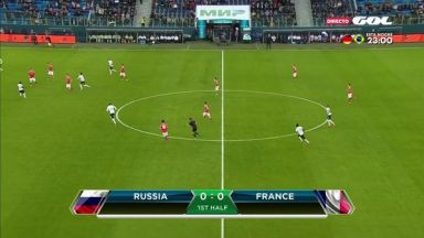 Full match: Russia vs France