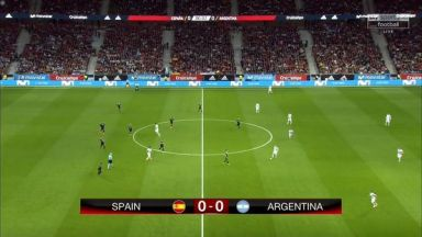 Full match: Spain vs Argentina