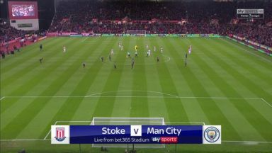 Full match: Stoke City vs Manchester City