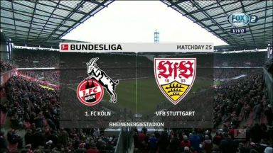 Full match: Cologne vs Stuttgart