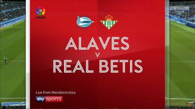 Full match: Deportivo Alaves vs Real Betis