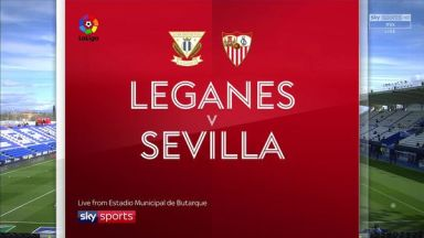 Full match: Leganes vs Sevilla