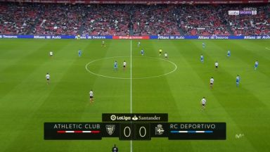 Full match: Athletic Bilbao vs Deportivo La Coruna