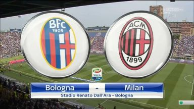 Full match: Bologna vs AC Milan