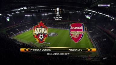 Full match: CSKA Moskva vs Arsenal