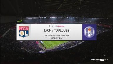 Full match: Olympique Lyonnais vs Toulouse