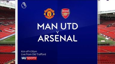 Full match: Manchester United vs Arsenal