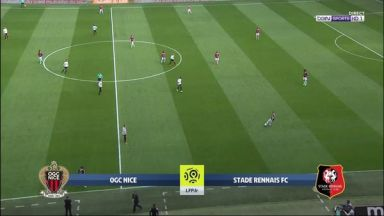 Full match: Nice vs Rennes