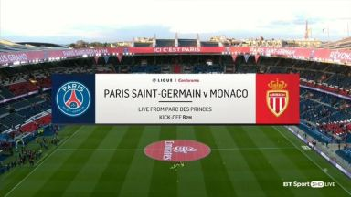 Full match: PSG vs Monaco