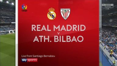 Full match: Real Madrid vs Athletic Bilbao