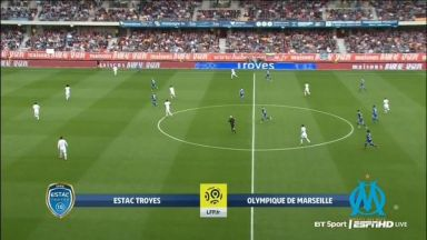 Full match: Troyes vs Olympique Marseille