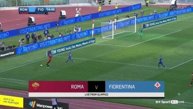 Full match: Roma vs Fiorentina