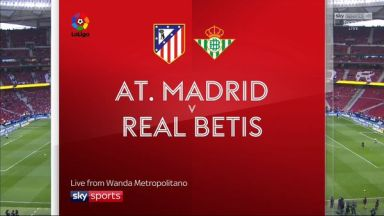 Full match: Atletico Madrid vs Real Betis
