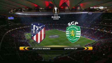Full match: Atletico Madrid vs Sporting Lisbon