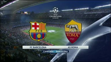 Full match: Barcelona vs Roma