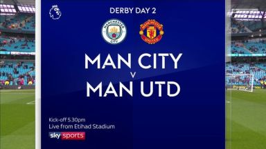 Full match: Manchester City vs Manchester United