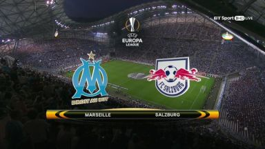 Full match: Olympique Marseille vs Salzburg