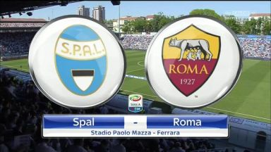 Full match: SPAL vs Roma