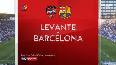 Full match: Levante vs Barcelona