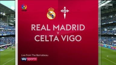 Full match: Real Madrid vs Celta de Vigo