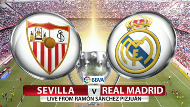 Full match: Sevilla vs Real Madrid