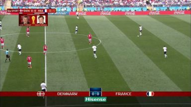 Full match: Denmark vs France