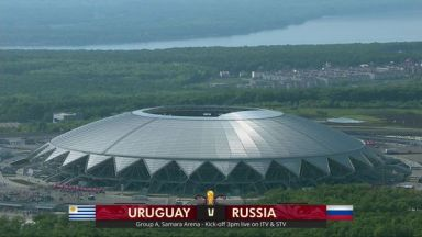 Full match: Uruguay vs Russia