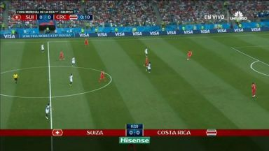 Full match: Switzerland vs Costa Rica