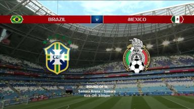 Full match: Brazil vs Mexico