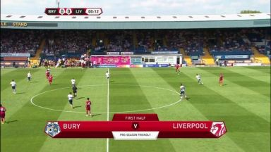 Full match: Bury vs Liverpool