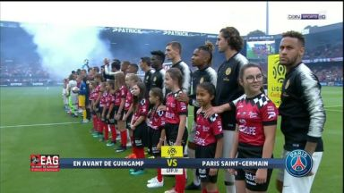 Full match: Guingamp vs PSG