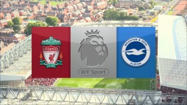 Full match: Liverpool vs Brighton & Hove Albion