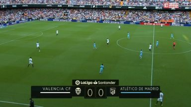 Full match: Valencia vs Atletico Madrid