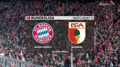 Full match: Bayern Munich vs Augsburg