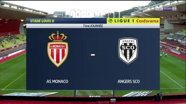 Full match: Monaco vs Angers SCO