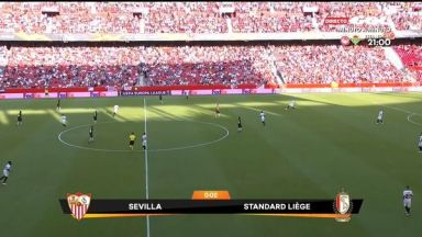 Full match: Sevilla vs Standard Liège
