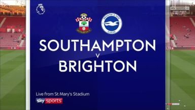 Full match: Southampton vs Brighton & Hove Albion