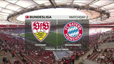 Full match: Stuttgart vs Bayern Munich