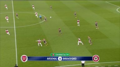 Full match: Arsenal vs Brentford