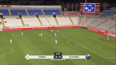 Full match: Cyprus vs Slovenia