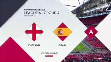 Full match: England vs Spain