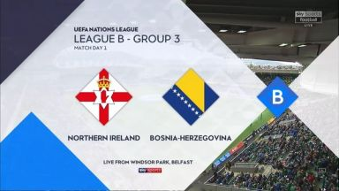 Full match: Northern Ireland vs Bosnia-Herzegovina