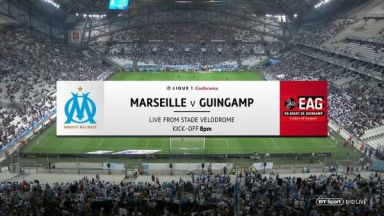 Full match: Olympique Marseille vs Guingamp