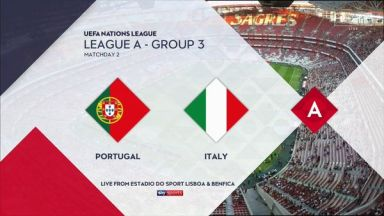 Full match: Portugal vs Italy