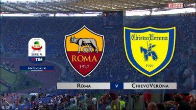 Full match: Roma vs Chievo