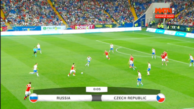 Full match: Russia vs Czech Republic