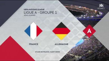 Full match: France vs Germany